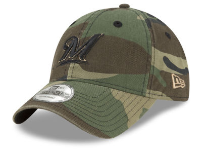 Milwaukee Brewers New Era MLB Camo Core Classic 9TWENTY Cap