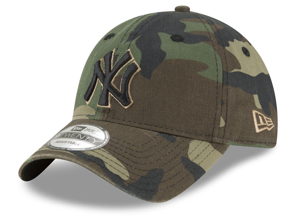 New York Yankees New Era MLB Camo Core Classic 9TWENTY Cap  6b908341e85e