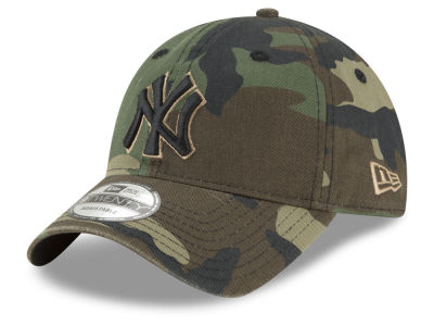 New York Yankees New Era MLB Camo Core Classic 9TWENTY Cap