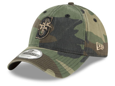 Seattle Mariners New Era MLB Camo Core Classic 9TWENTY Cap