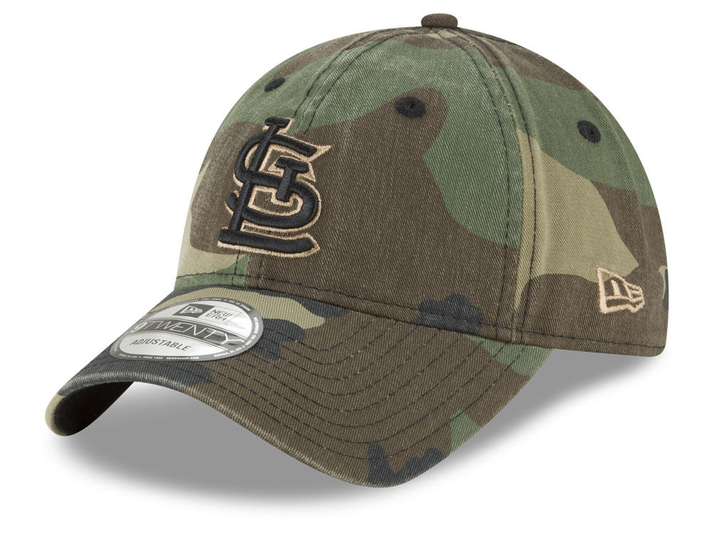 St. Louis Cardinals New Era MLB Camo Core Classic 9TWENTY Cap  a25d85ef5915