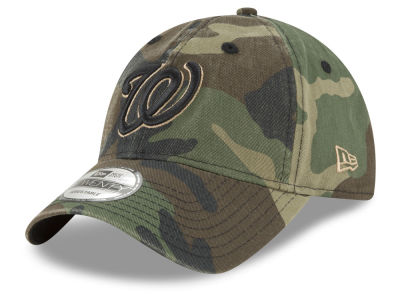 Washington Nationals New Era MLB Camo Core Classic 9TWENTY Cap