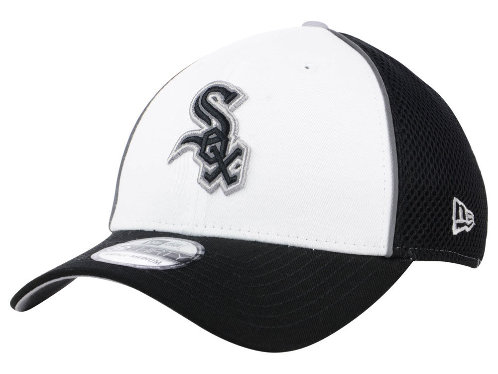 Chicago White Sox New Era MLB Pop Reflective 39THIRTY Cap  b210d25da3a