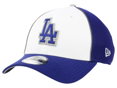 best website 244ed 4323a Los Angeles Dodgers New Era MLB Pop Reflective 39THIRTY Cap
