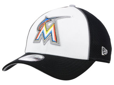 Miami Marlins New Era MLB Pop Reflective 39THIRTY Cap