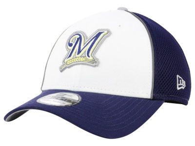 Milwaukee Brewers New Era MLB Pop Reflective 39THIRTY Cap