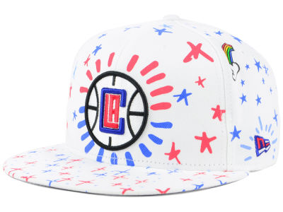 Los Angeles Clippers New Era NBA Write On 9FIFTY Snapback Cap