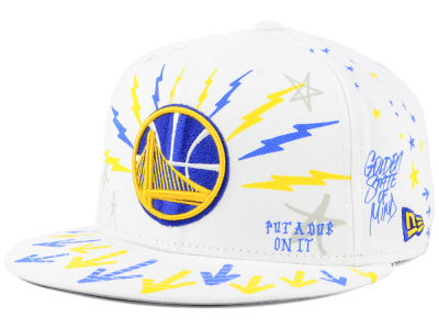 Golden State Warriors New Era NBA Write On 9FIFTY Snapback Cap