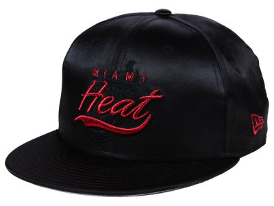 Chapeau noir du satin 9FIFTY Snapback de NBA