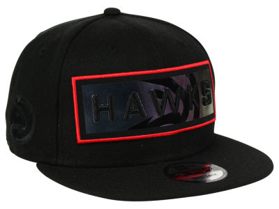 Atlanta Hawks New Era NBA Iridescent Stripe 9FIFTY Snapback Cap