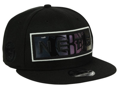 Brooklyn Nets New Era NBA Iridescent Stripe 9FIFTY Snapback Cap