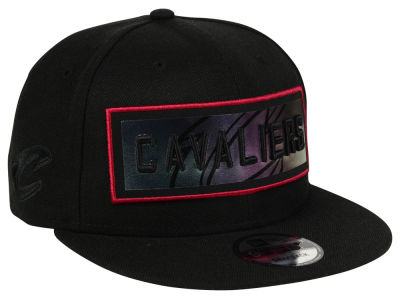 Cleveland Cavaliers New Era NBA Iridescent Stripe 9FIFTY Snapback Cap