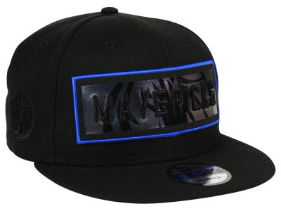 Dallas Mavericks New Era NBA Iridescent Stripe 9FIFTY Snapback Cap