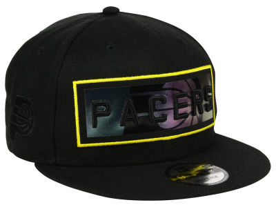 Indiana Pacers New Era NBA Iridescent Stripe 9FIFTY Snapback Cap