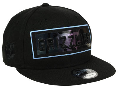 Memphis Grizzlies New Era NBA Iridescent Stripe 9FIFTY Snapback Cap
