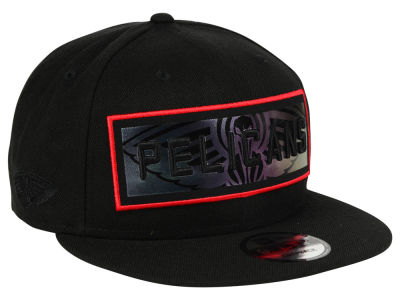 New Orleans Pelicans New Era NBA Iridescent Stripe 9FIFTY Snapback Cap