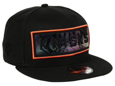 New York Knicks New Era NBA Iridescent Stripe 9FIFTY Snapback Cap
