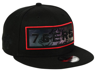 Philadelphia 76ers New Era NBA Iridescent Stripe 9FIFTY Snapback Cap