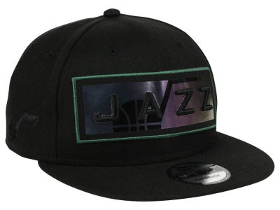 Utah Jazz New Era NBA Iridescent Stripe 9FIFTY Snapback Cap