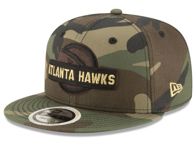 Atlanta Hawks New Era NBA Gold Word 9FIFTY Snapback Cap