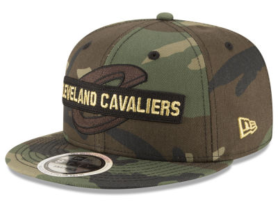 Cleveland Cavaliers New Era NBA Gold Word 9FIFTY Snapback Cap