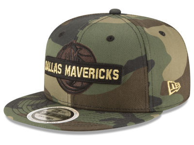 Dallas Mavericks New Era NBA Gold Word 9FIFTY Snapback Cap