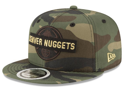 Denver Nuggets New Era NBA Gold Word 9FIFTY Snapback Cap