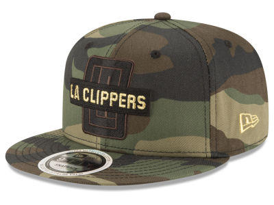 Los Angeles Clippers New Era NBA Gold Word 9FIFTY Snapback Cap