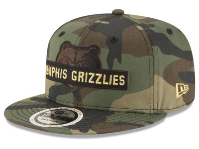 Memphis Grizzlies New Era NBA Gold Word 9FIFTY Snapback Cap