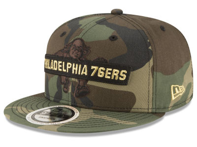 Philadelphia 76ers New Era NBA Gold Word 9FIFTY Snapback Cap
