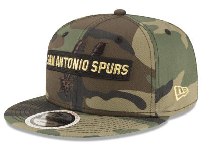 San Antonio Spurs New Era NBA Gold Word 9FIFTY Snapback Cap