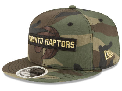 Toronto Raptors New Era NBA Gold Word 9FIFTY Snapback Cap