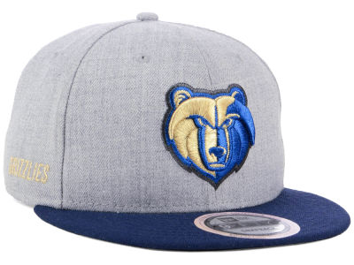 Memphis Grizzlies New Era NBA Heather Metallic 9FIFTY Snapback Cap