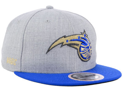 Orlando Magic New Era NBA Heather Metallic 9FIFTY Snapback Cap