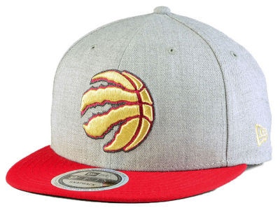 Toronto Raptors New Era NBA Heather Metallic 9FIFTY Snapback Cap