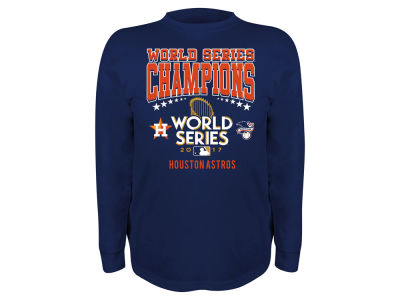 Houston Astros 2017 MLB Youth World Series Champ Long Sleeve T-Shirt