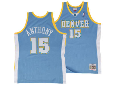 Denver Nuggets Carmelo Anthony Mitchell   Ness NBA Men s Hardwood Classic  Swingman Jersey f92d512d6