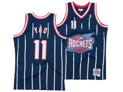 Houston Rockets Yao Ming Mitchell & Ness NBA Men's Hardwood Classic Swingman Jersey