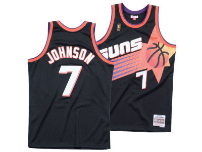 Phoenix Suns Kevin Johnson Mitchell & Ness NBA Men's Hardwood Classic Swingman Jersey
