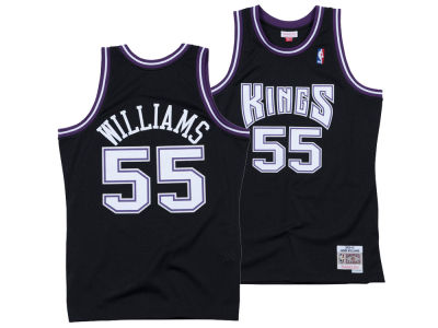 Sacramento Kings Jason Williams Mitchell & Ness NBA Men's Hardwood Classic Swingman Jersey