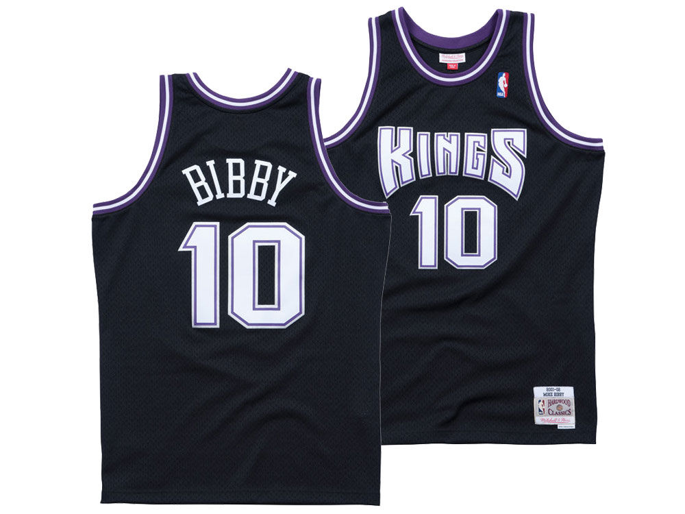d28bf6c1a16 ... coupon for sacramento kings mike bibby mitchell ness nba mens hardwood  classic swingman jersey f60b0 72e53