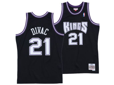Sacramento Kings Vlade Divac Mitchell & Ness NBA Men's Hardwood Classic Swingman Jersey