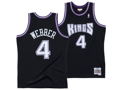 Sacramento Kings Chris Webber Mitchell & Ness NBA Men's Hardwood Classic Swingman Jersey