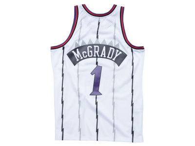 Toronto Raptors Tracy McGrady Mitchell & Ness NBA Men's Hardwood Classic Swingman Jersey
