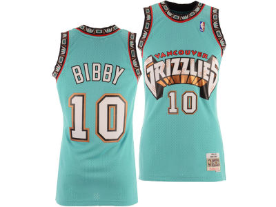 Vancouver Grizzlies Mike Bibby Mitchell & Ness NBA Men's Hardwood Classic Swingman Jersey