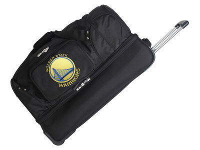 Golden State Warriors Mojo 27in Wheeled Duffel Bag