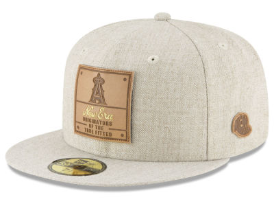Los Angeles Angels New Era MLB Vintage Oatmeal 59FIFTY Cap