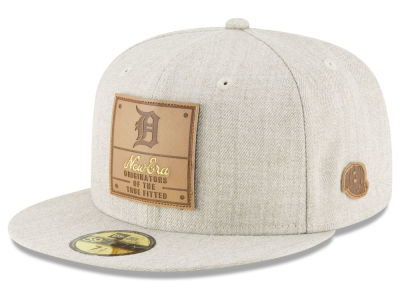 Detroit Tigers New Era MLB Vintage Oatmeal 59FIFTY Cap