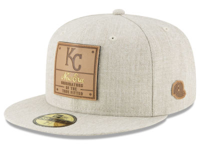 Kansas City Royals New Era MLB Vintage Oatmeal 59FIFTY Cap