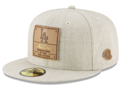 Los Angeles Dodgers New Era MLB Vintage Oatmeal 59FIFTY Cap